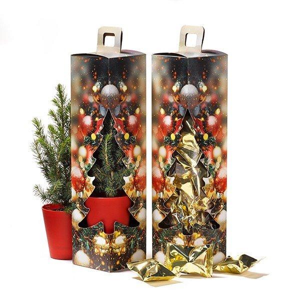 Kerstboom in geschenkdoos 2